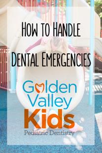 Let's Talk Dental Emergencies with Dr. Adena Borodkin of  Golden Valley Kids Pediatric Dentistry in Golden Valley, MN
