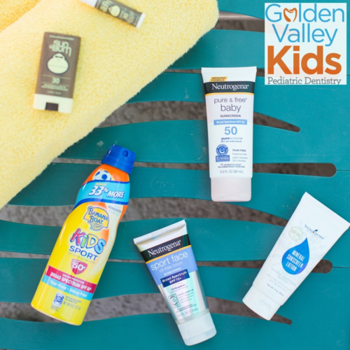 Let's talk sun protection with Dr. Adena Borodkin of Golden Valley Kids Pediatric Dentistry in Golden Valley, MN